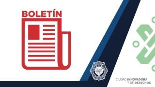 Cuatro hombres que posiblemente ingresaron a un domicilio y robaron varios artículos, fueron detenidos por policías de la SSC-PBI en la alcaldía Benito Juárez